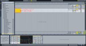 Ableton Live 8 ステップ入力1