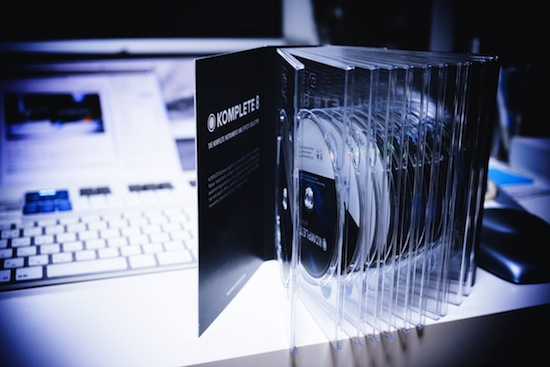 Native Instruments KOMPLETE 8 Install Disc