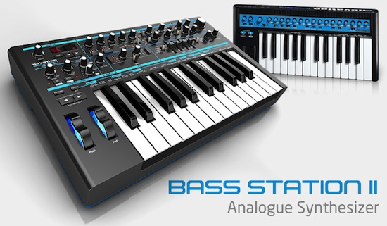 Novation BassStationII