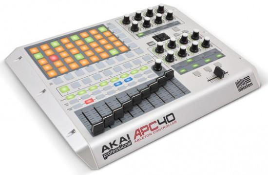 AKAI APC40 White